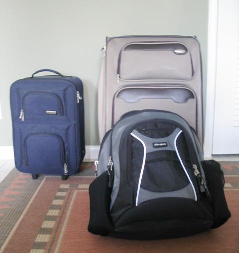 Mini sized luggage